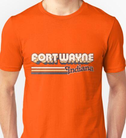 Fort Wayne, IN   City Stripes T-Shirt