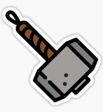 Stop! Hammer time! Sticker