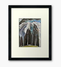Mountain Trees Framed Print