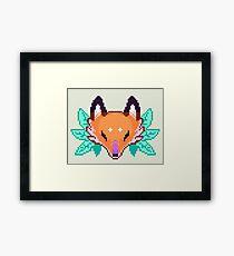 Pixel Fox Framed Print