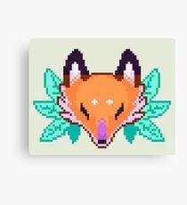 Pixel Fox Canvas Print
