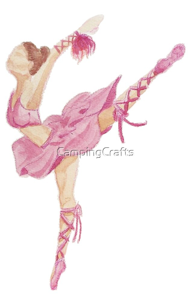 Ballerina - Pink  by CampingCrafts