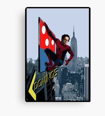 Pizza Boy Spidey Canvas Print