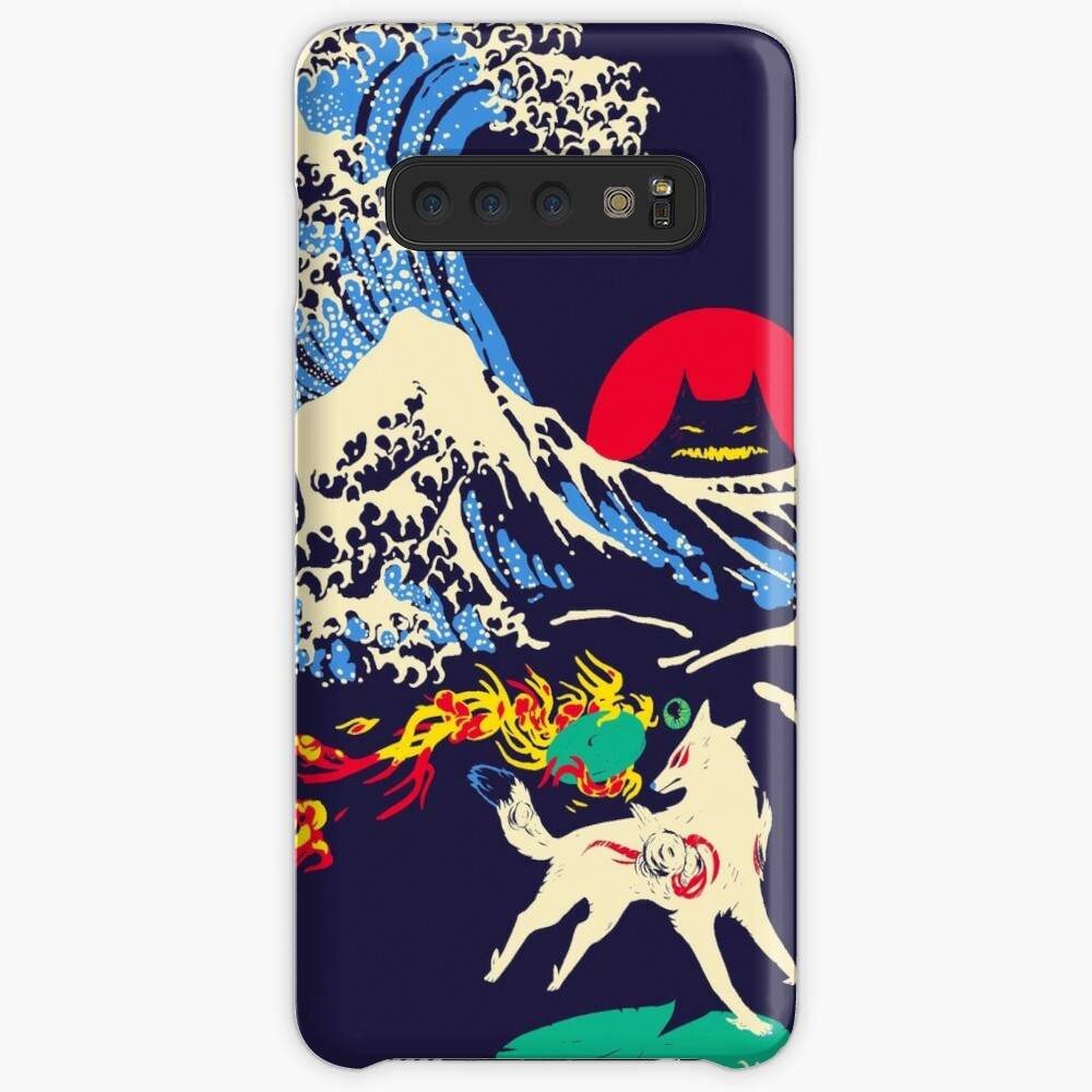 The Great Wave off Oni Island Case & Skin for Samsung Galaxy