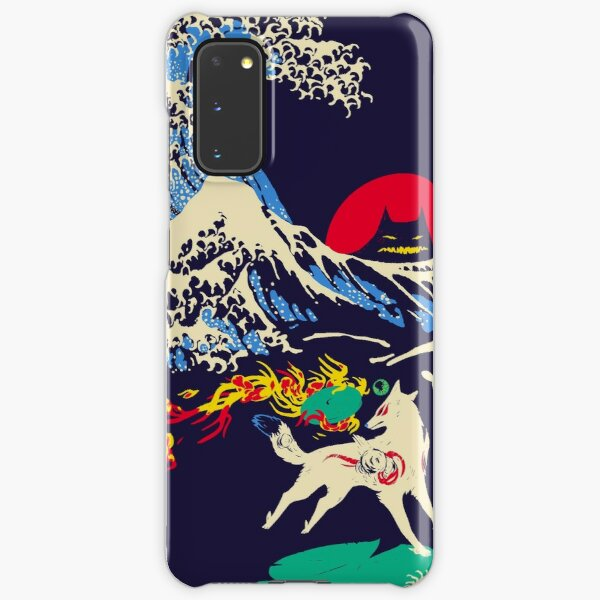The Great Wave off Oni Island Samsung Galaxy Snap Case
