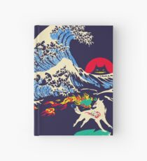 The Great Wave off Oni Island Hardcover Journal