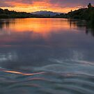 Waves Across the River by Sue  Cullumber