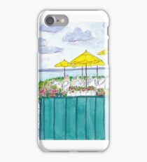 Lunch on the Water Watercolor iPhone Case/Skin