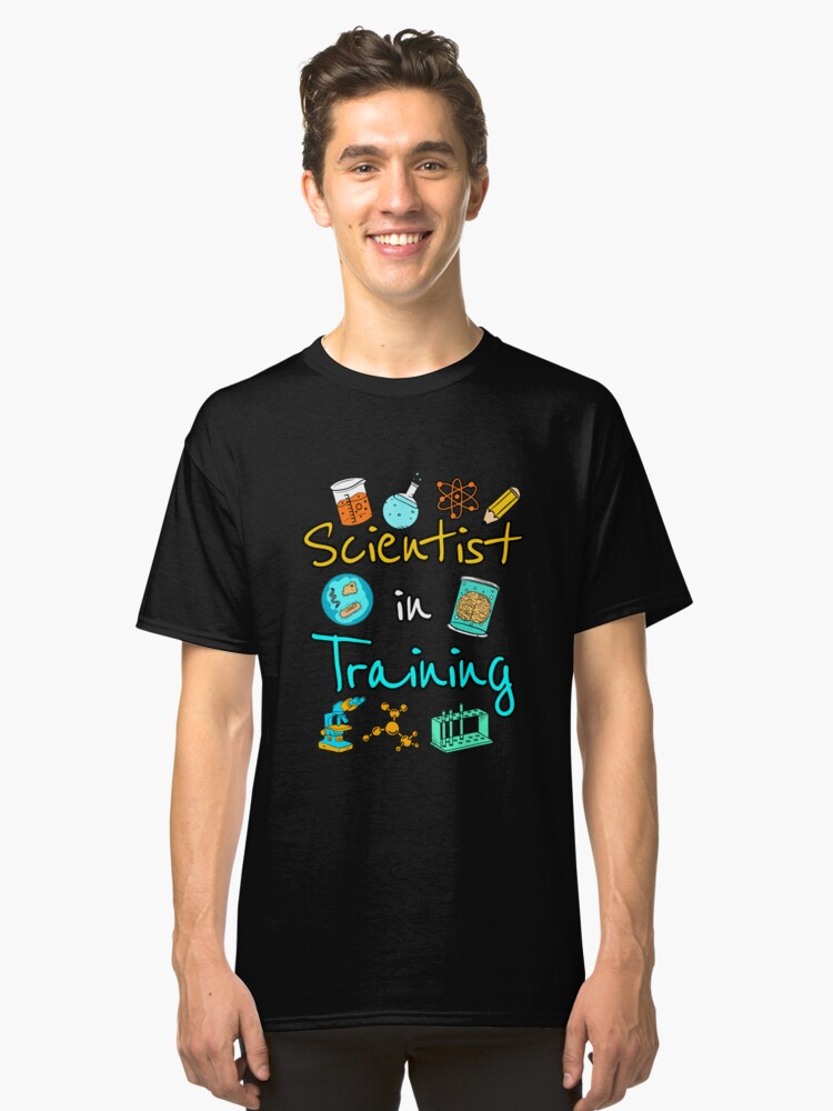 Scientist In Training Science Classic T-Shirt Front