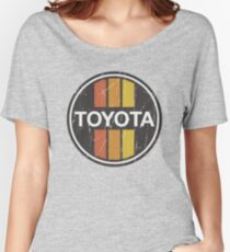 Toyota 1970s Scheme Women's Relaxed Fit T-Shirt