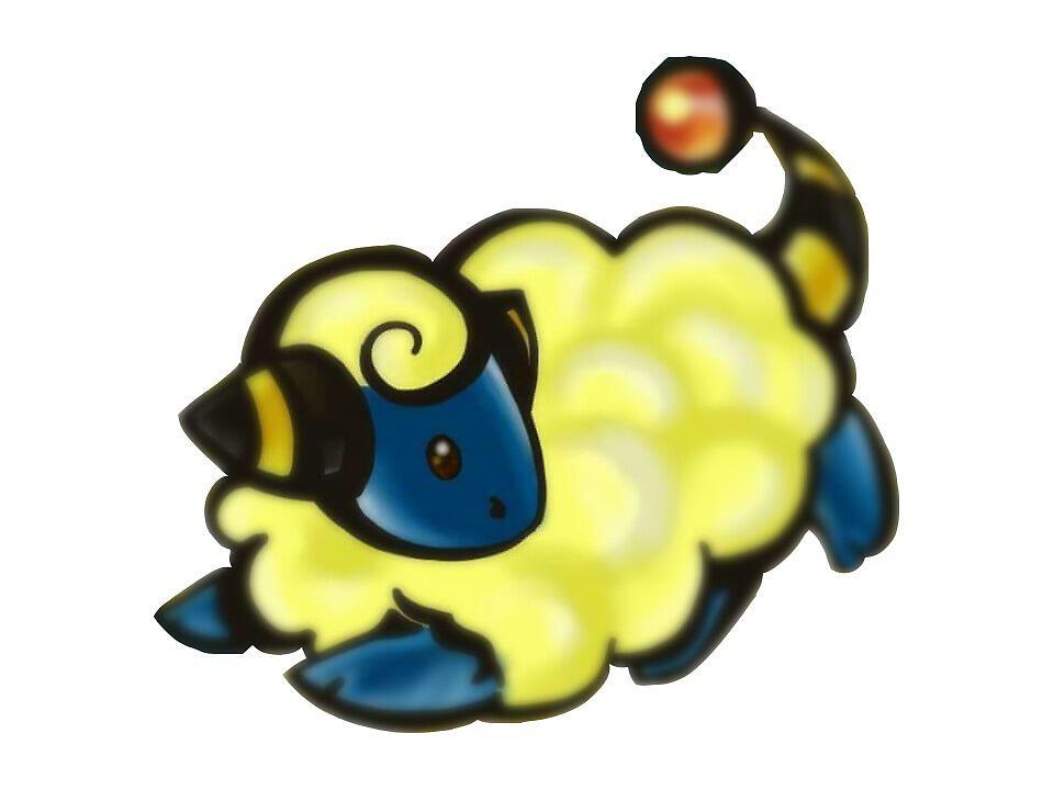 Mareep Pokemon Sheep by lesmichelle sa