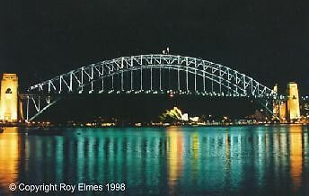Sydney's Olympic Bridge by roybob