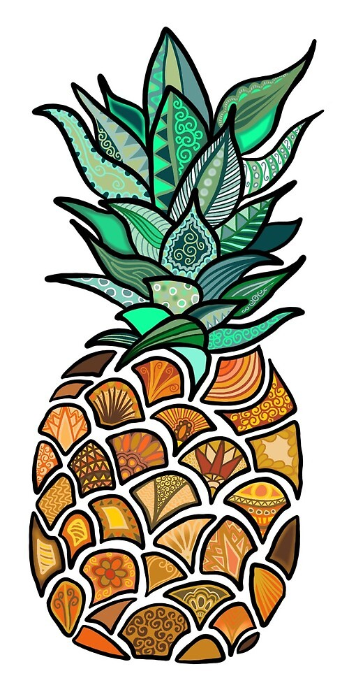 Pineapple by KerrieHitchen