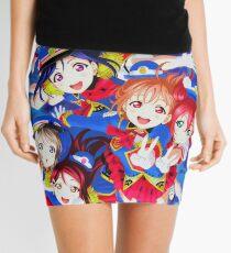 Happy Party Train - Love Aqours! Mini Skirt