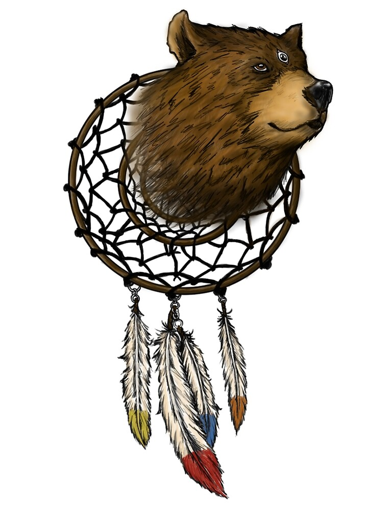 Spirit Of The Three Eyed Bear by DILL-inc-