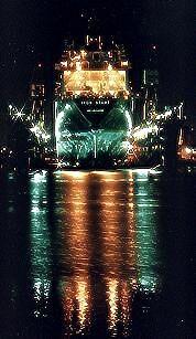 Ship in Drydock by roybob
