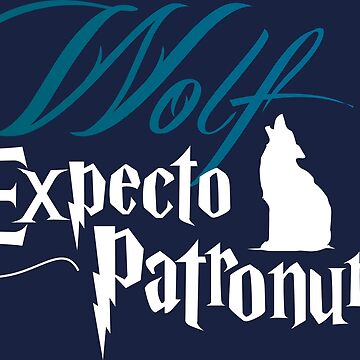 Expecto Patronum Wolf by MediaBee
