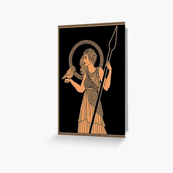 Athena Pottery Greeting Card