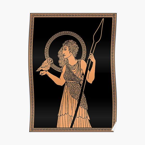 Athena Keramik Poster