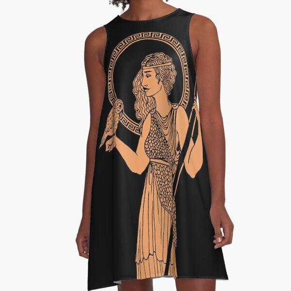 Athena Pottery A-Line Dress