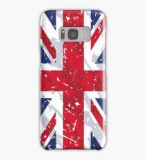 United Kingdom Grunge Vintage Flag Samsung Galaxy Case/Skin