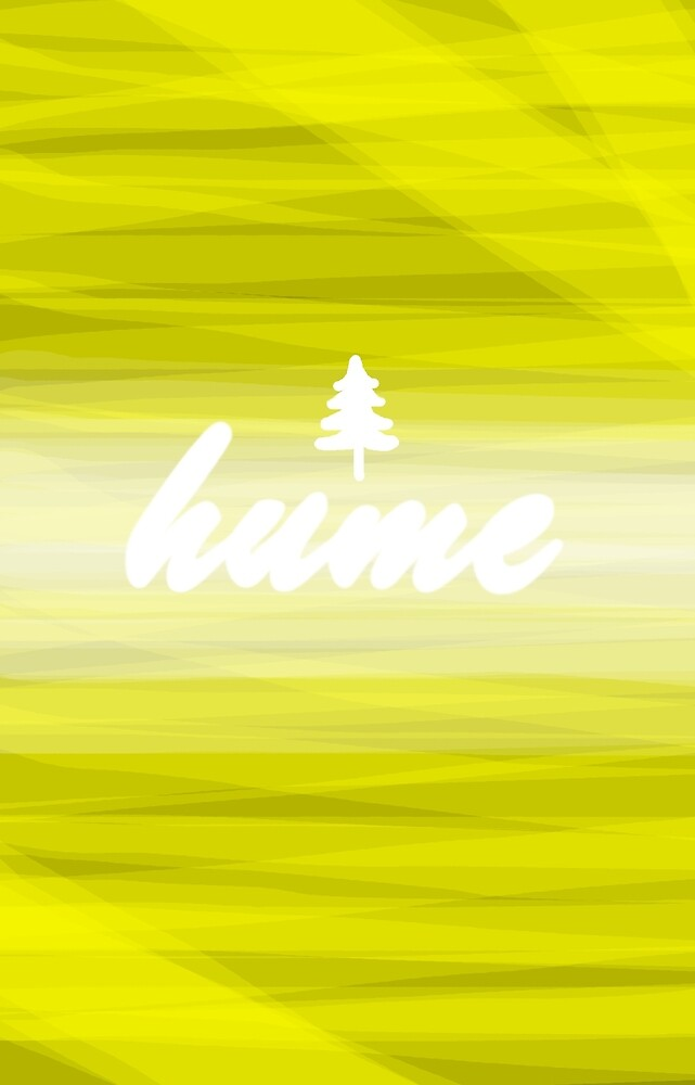 Hume Phone Case - Yellow by Jackson Irvine