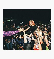 Lil Pump Crowd Surfing Photographic Print