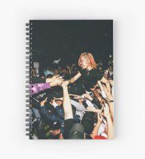 Lil Pump Crowd Surfing Spiral Notebook
