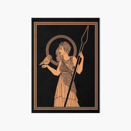 Athena Pottery Art Board Print
