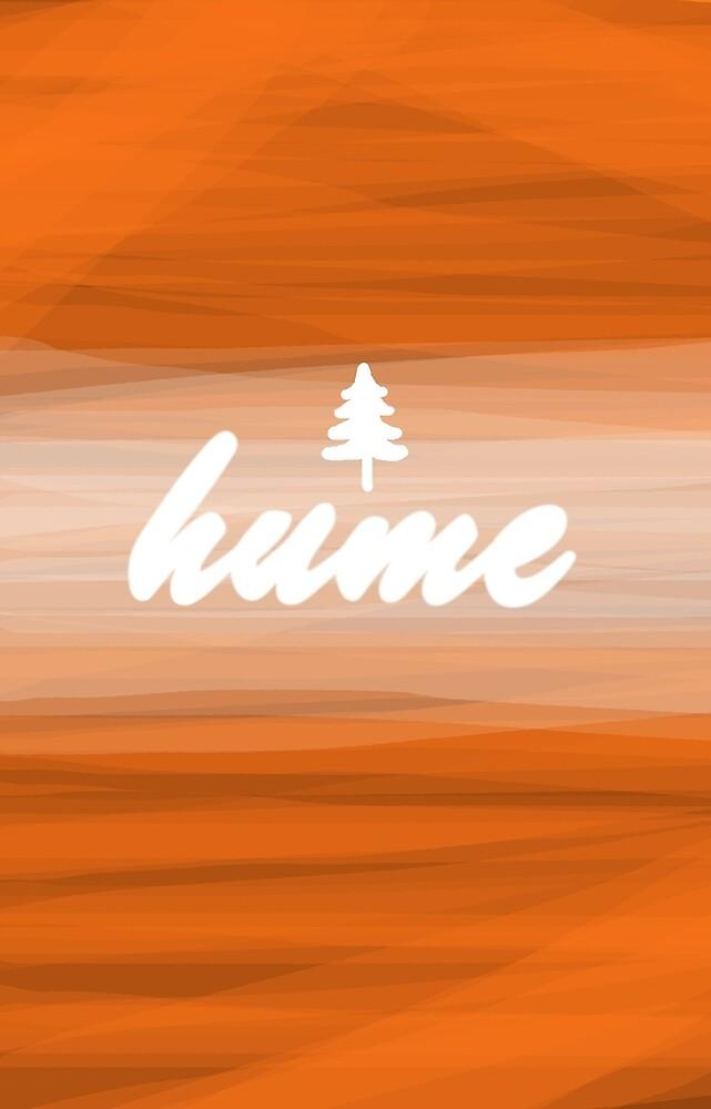 Hume Phone Case - Orange by Jackson Irvine