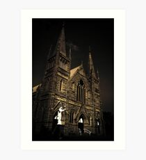 Catholic Church Art Print