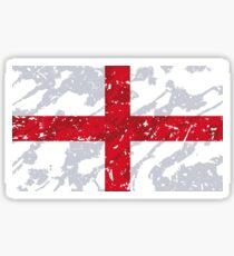 England Grunge Vintage Flag Sticker