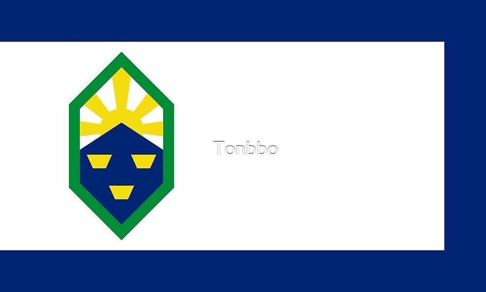 Colorado Springs Flag, Colorado by Tonbbo