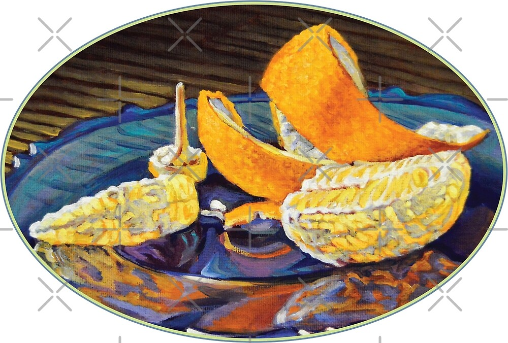 Orange Peel Curl by Kenneth Cobb