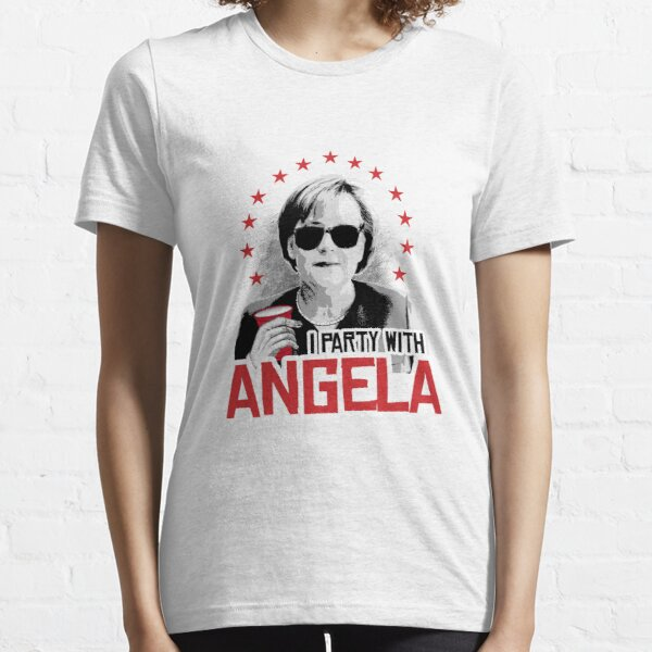I party with Angela Essential T-Shirt