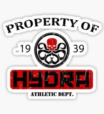 Hydra Athletic Dept. (distressed) Sticker
