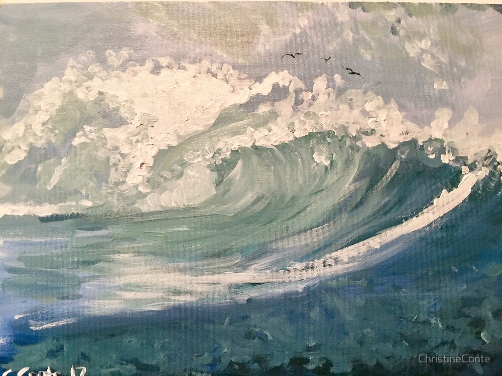 Ocean Waves by ChristineConte
