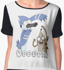 Regular Shirt Ooooh  Chiffon Top