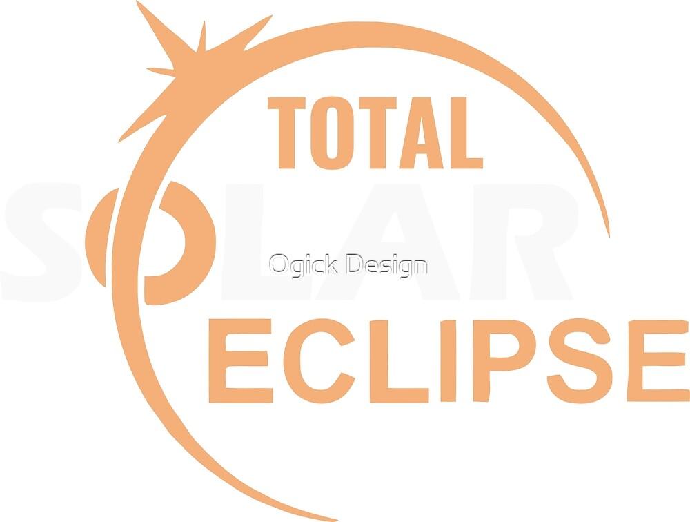 Total Solar Eclipse Shirt 2017, Solar Eclipse by Ogick Design
