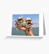 DUNGEONOUS CRAB Greeting Card