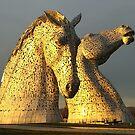 The Kelpies in Scotland by anitahiltz