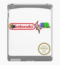 Nintendo 64er cart iPad Case/Skin