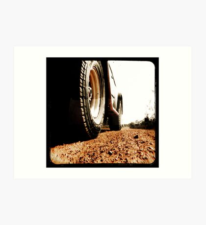 Red Dirt Art Print