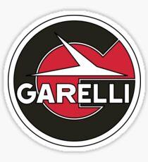 Vintage Garelli Motorcycle Moped Logo Sticker