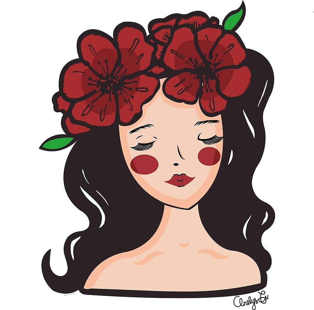 Flower girl by AnelysFvDesign
