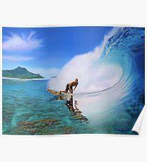 Surfen Dan Poster