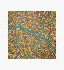 Paris Map Scarf
