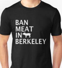 Ban Meat in Berkeley - White T-Shirt