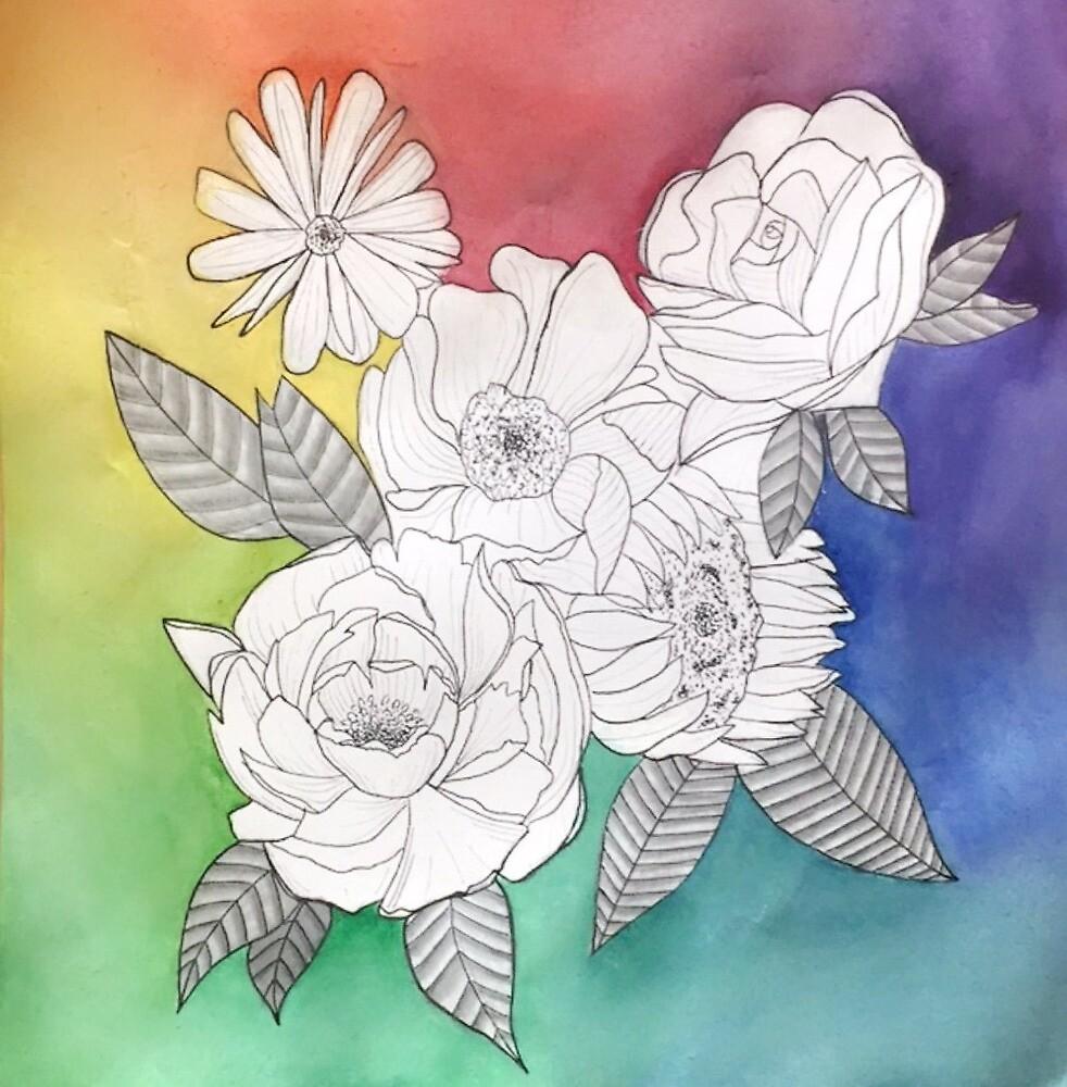 Flower Power  by Shanel Kerekes