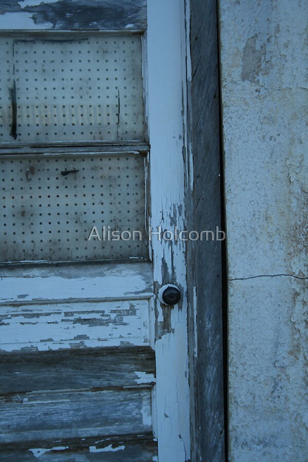 When one door closes... by Alison Holcomb